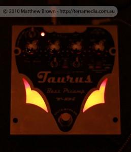 Taurus T-Di In Preamp Mode