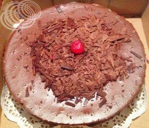 Jamaican Chocolate Baked Cheesecake
