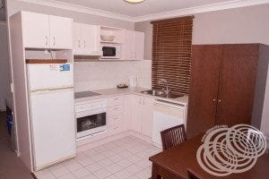 Rydges Horizons Deluxe Studio Kitchen