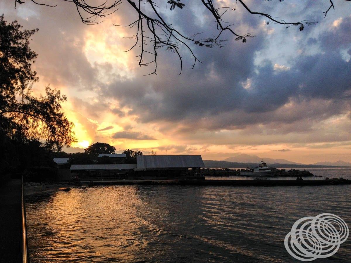 Sunset at Honiara