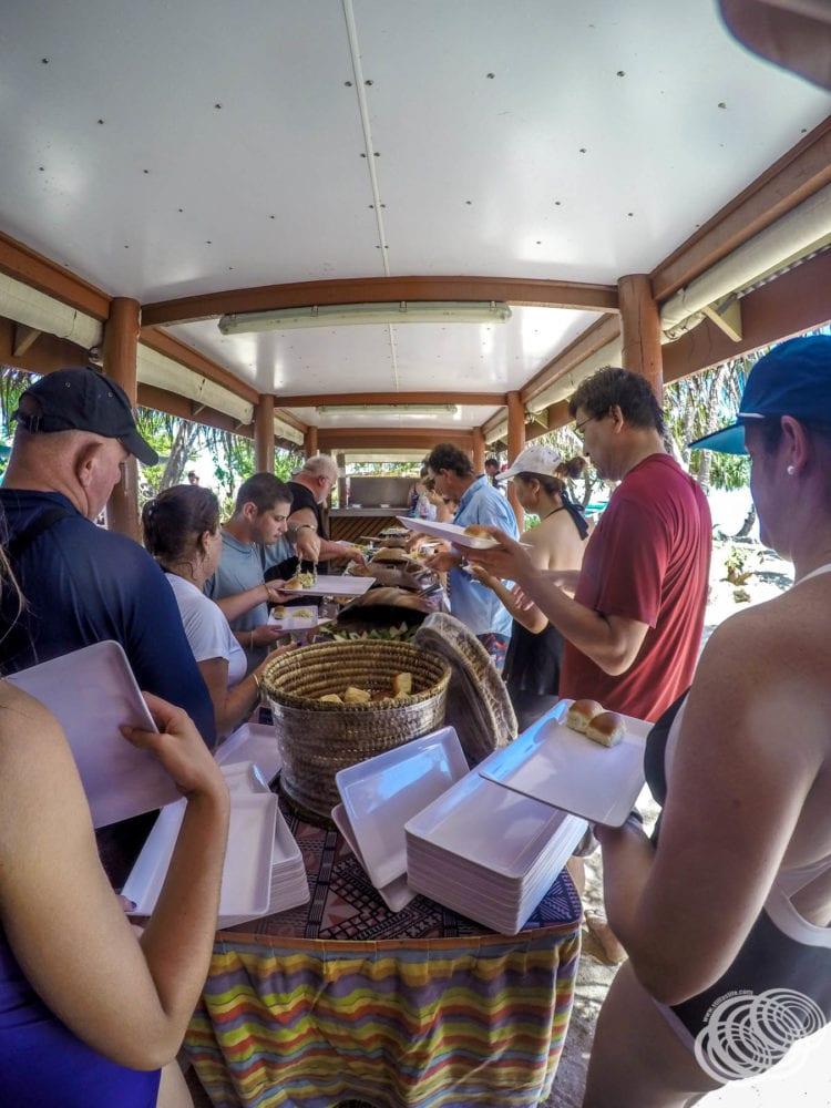 The South Sea Island buffet