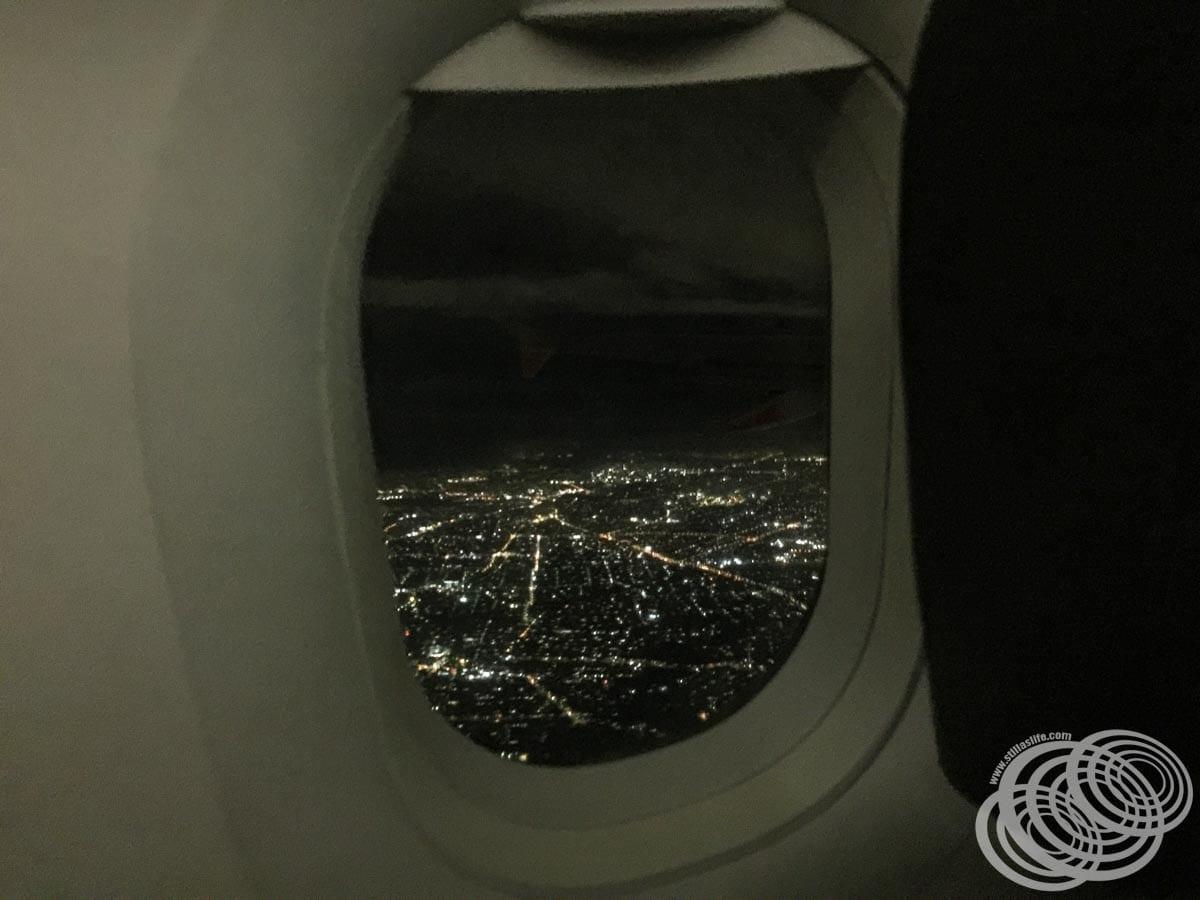 Departing Sydney for Darwin on Our Jetstar Flight.