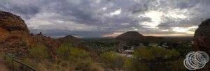 Panorama looking towards Kununurra from Mirima National Park