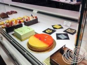 Exhibición de la torta de Zumbo