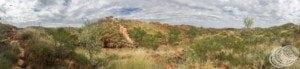 China Wall Panorama at Halls Creek
