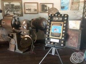 Memorabilia at Sun Pictures