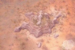 A standalone sandstone formation in the Bungle Bungles