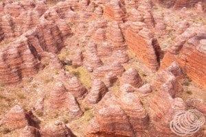 Sandstone domes at the Bungle Bungles