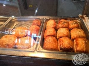 Sausage rolls at Pardoo Roadhouse