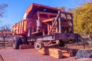 Old mining truck