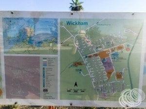 Wickham Town Map
