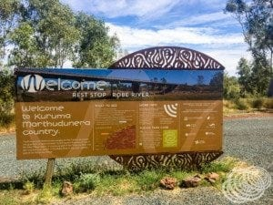 Robe River Rest Stop
