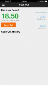 Cash out!
