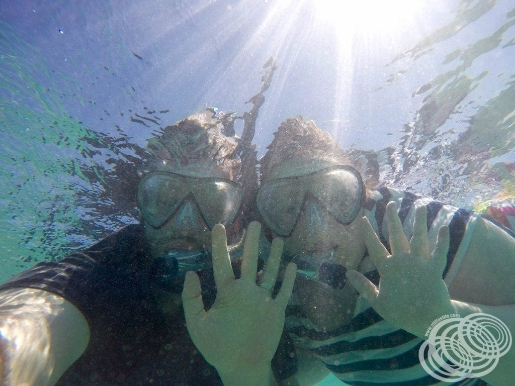 Snorkelling at Turquoise Bay!