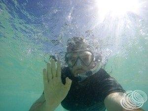 Snorkelling at Ningaloo National Park