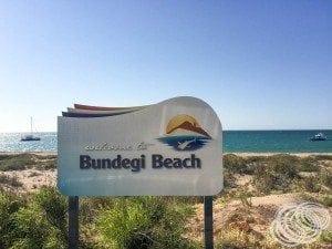 Arrived at Bundegi Beach