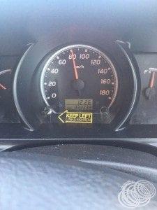 333,333 km's!