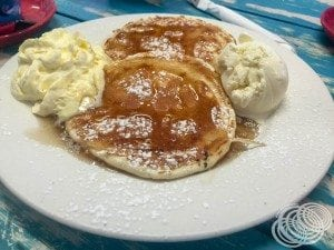 Wifey's pancakes
