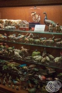 Tin toy animal collection