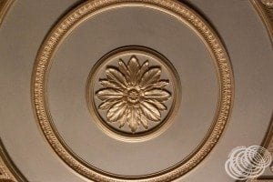 More of the ceiling details in the Aurora Fountain room