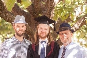 My brothers graduation!