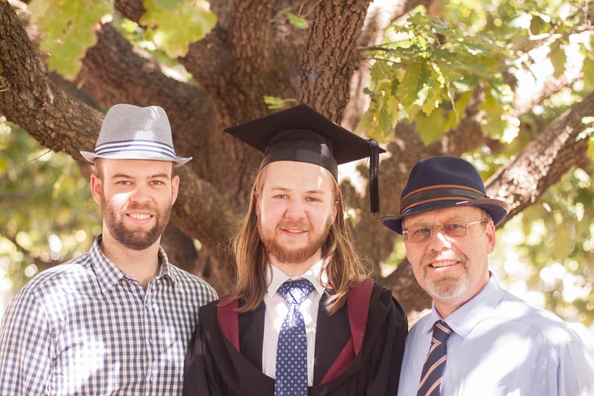 ¡La graduación de mis hermanos!