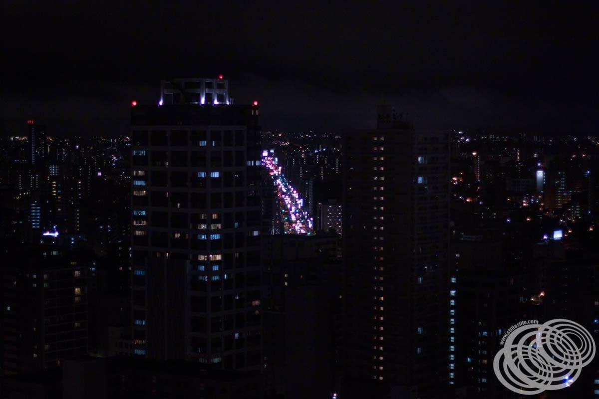 Mirando hacia el este desde la torre de televisión de Sapporo