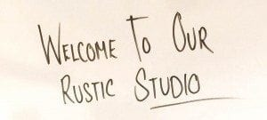 Welcome to our Rustic Studio