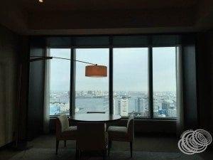 Conrad Tokyo Corner Room View
