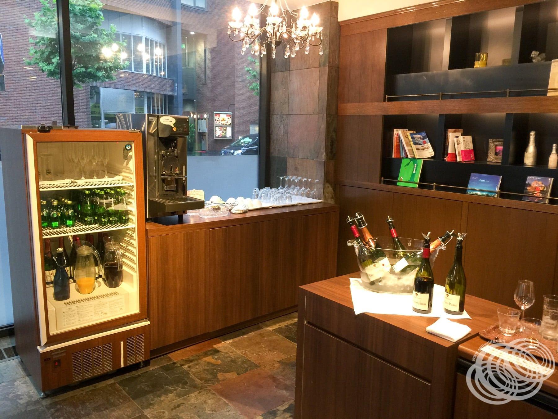 Hotel WBF Sapporo Chuo Free Lounge