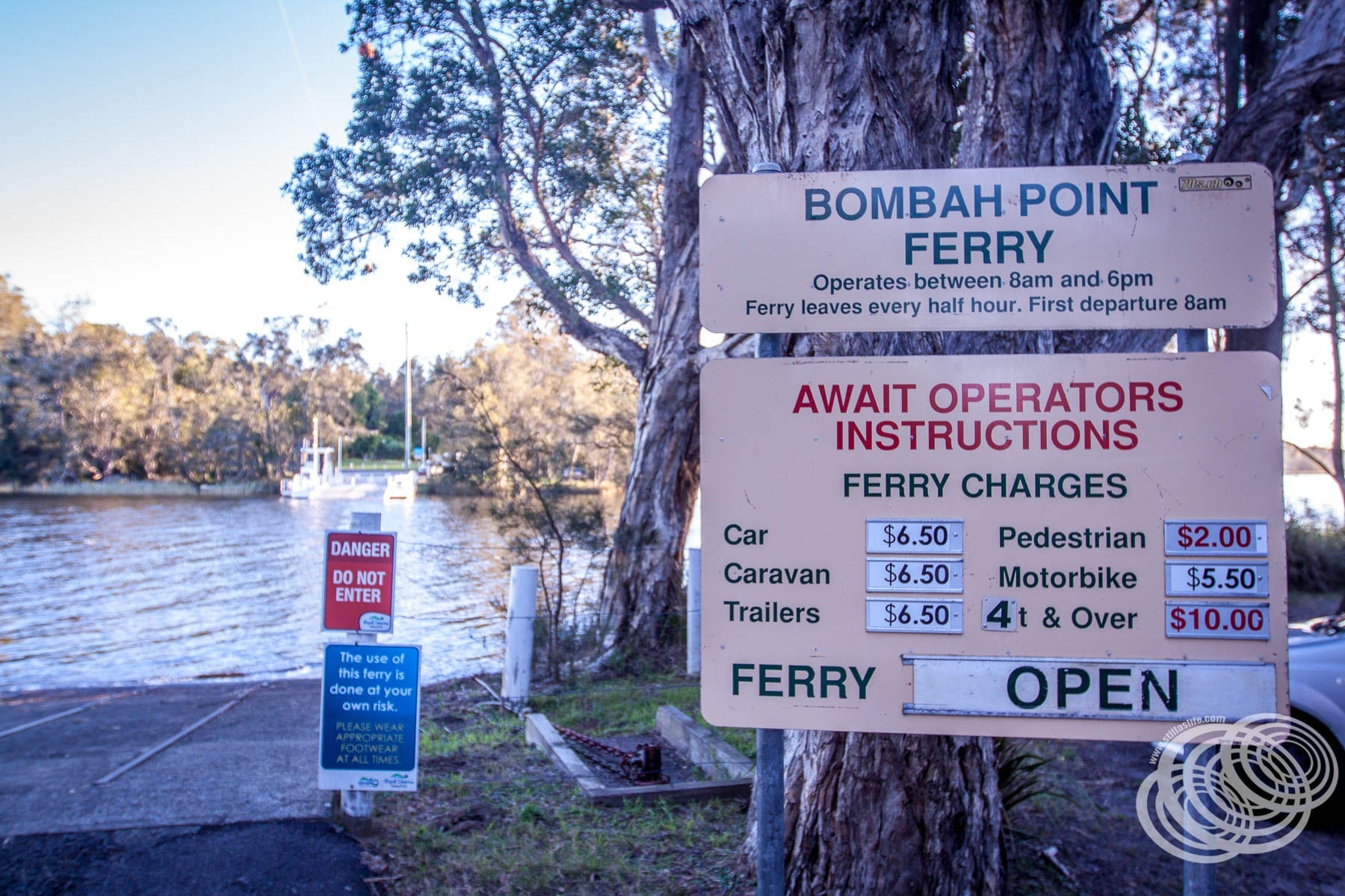 Bombah Point Ferry Prices