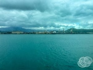 Heavy industry on the outskirts of Noumea