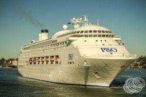 P&O Pacific Dawn Cruise Ship