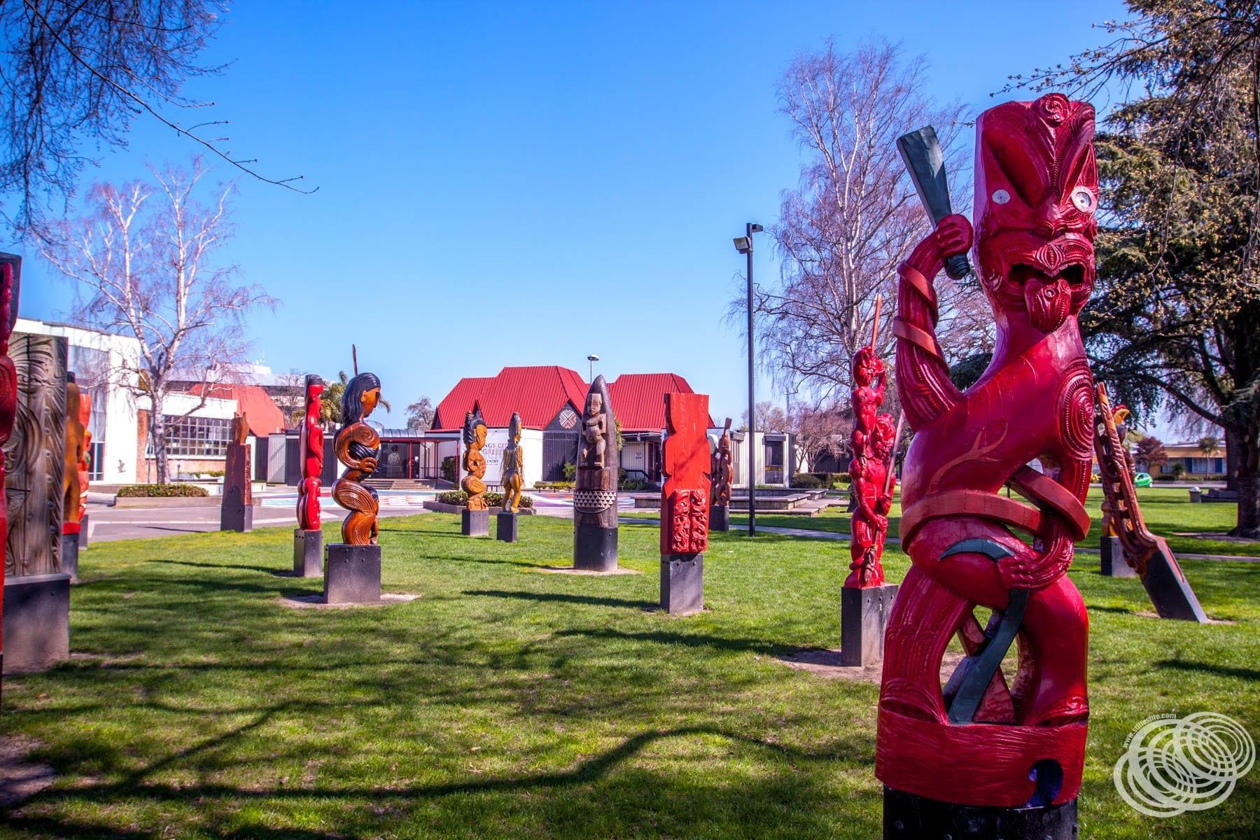 Hastings Maori Sculptures