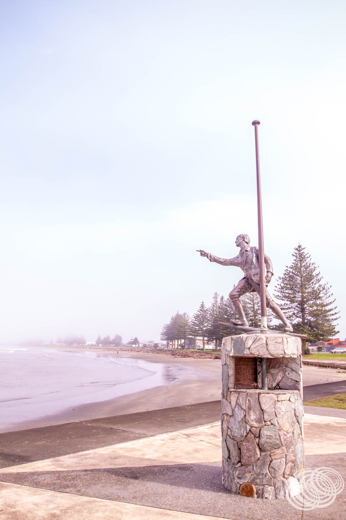 Nicks Statue in Gisborne