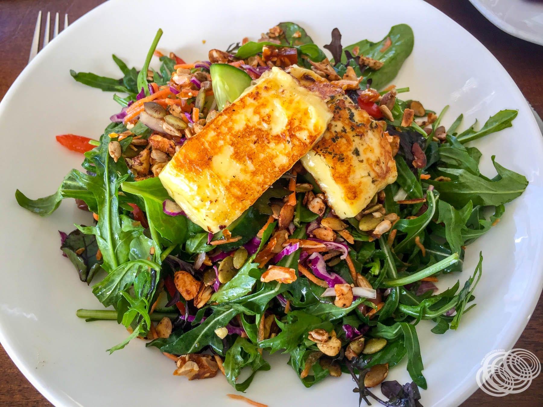 Salad at Entice Cafe Masterton