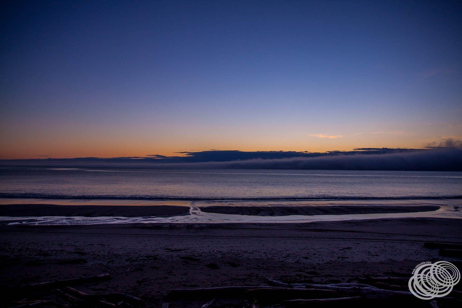 Sunset at Mahia Beach