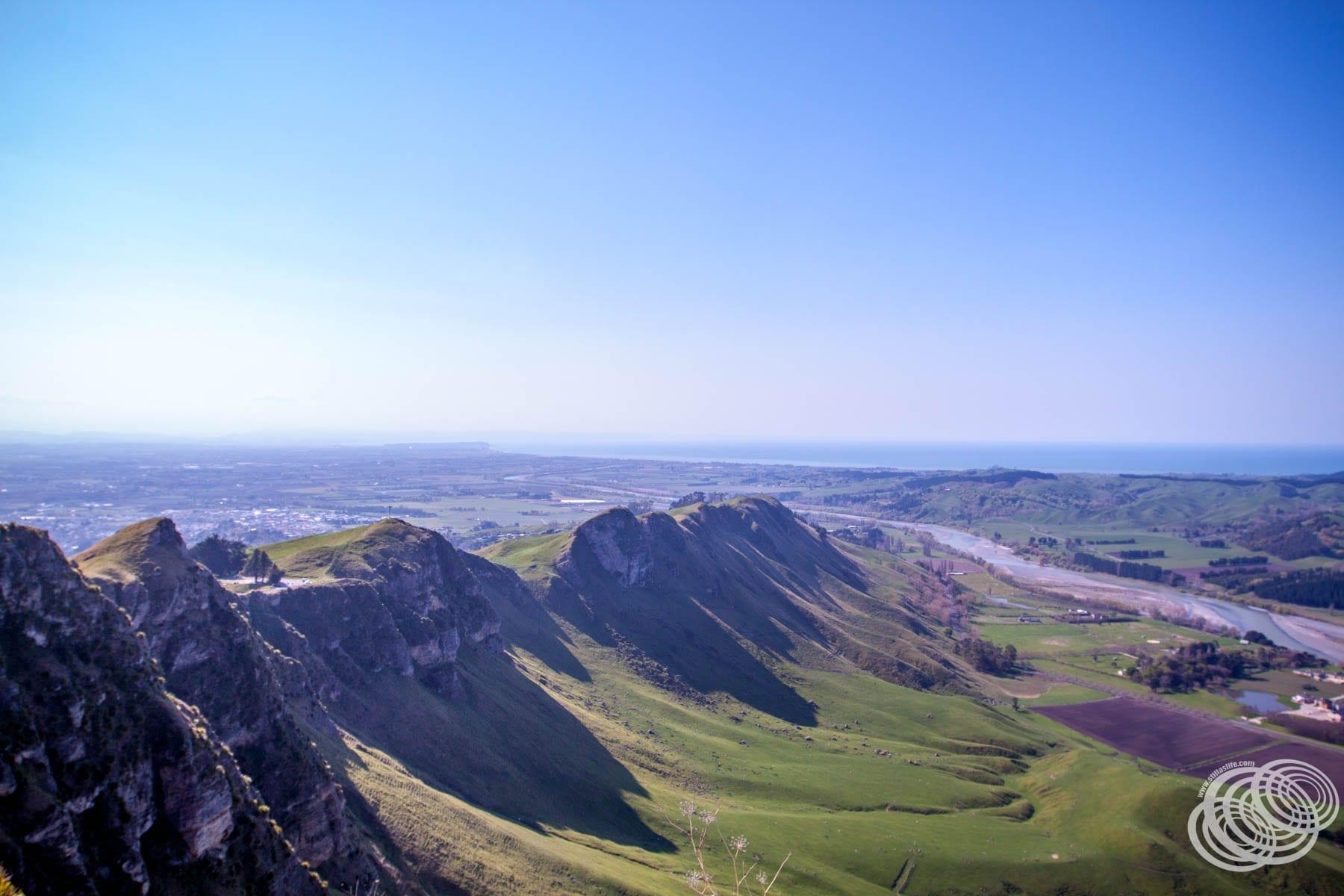 The view from Te Mata Peak