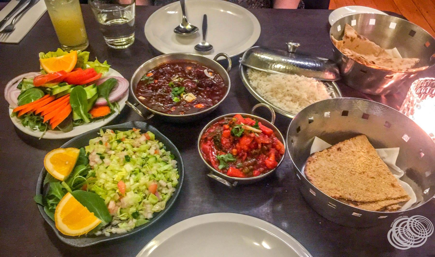 Vegan Dinner at Indigo Napier