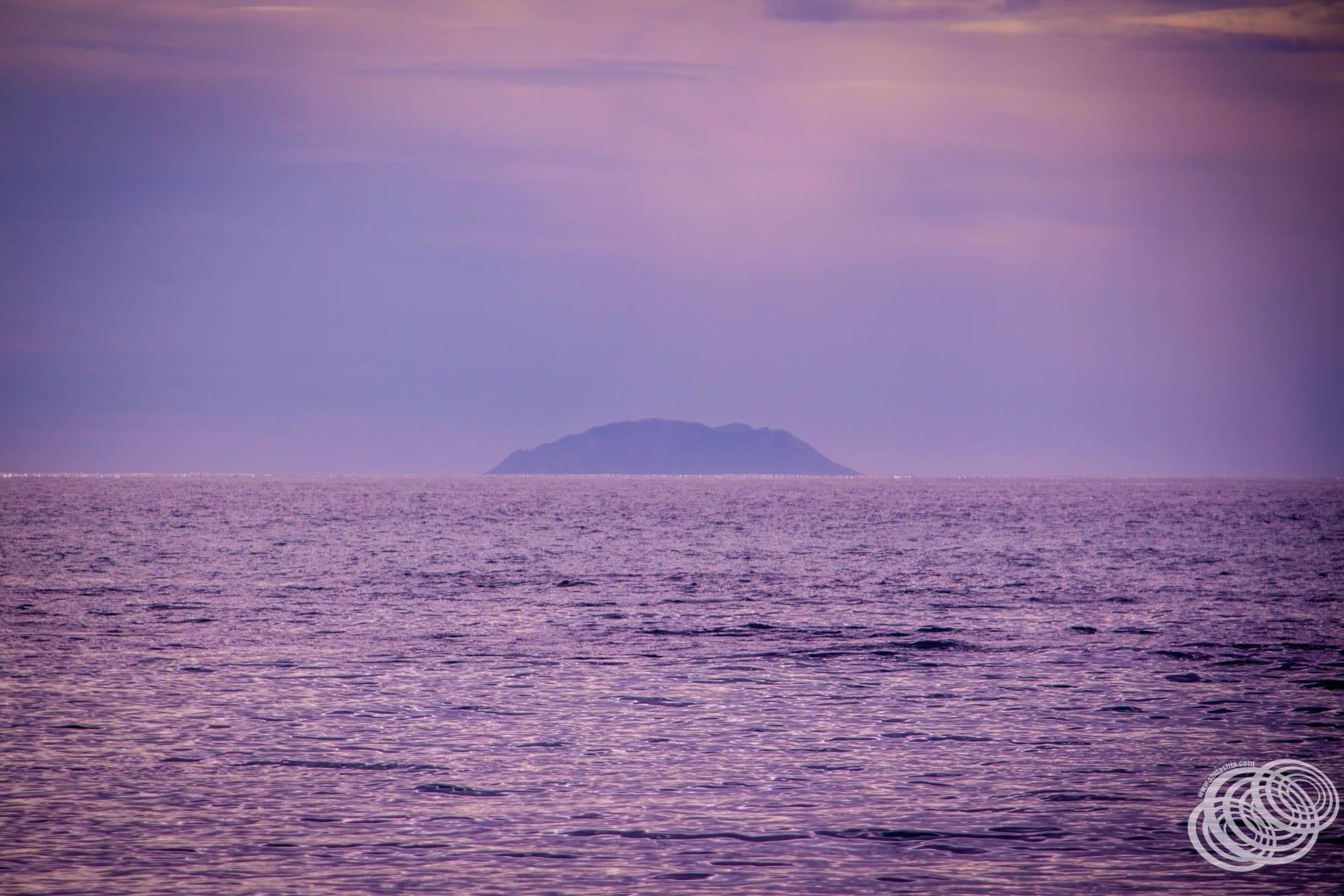 View to White Island from Te Kaha