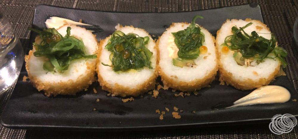 Tempura Crusted Uramaki Sushi