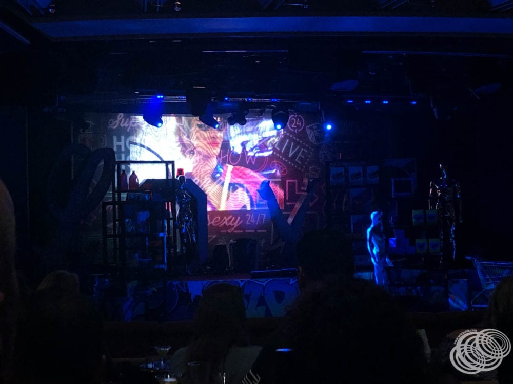 The paid Love Riot show on P&O Cruises