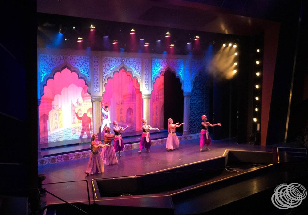One of the complimentary shows on Jewel of the Seas