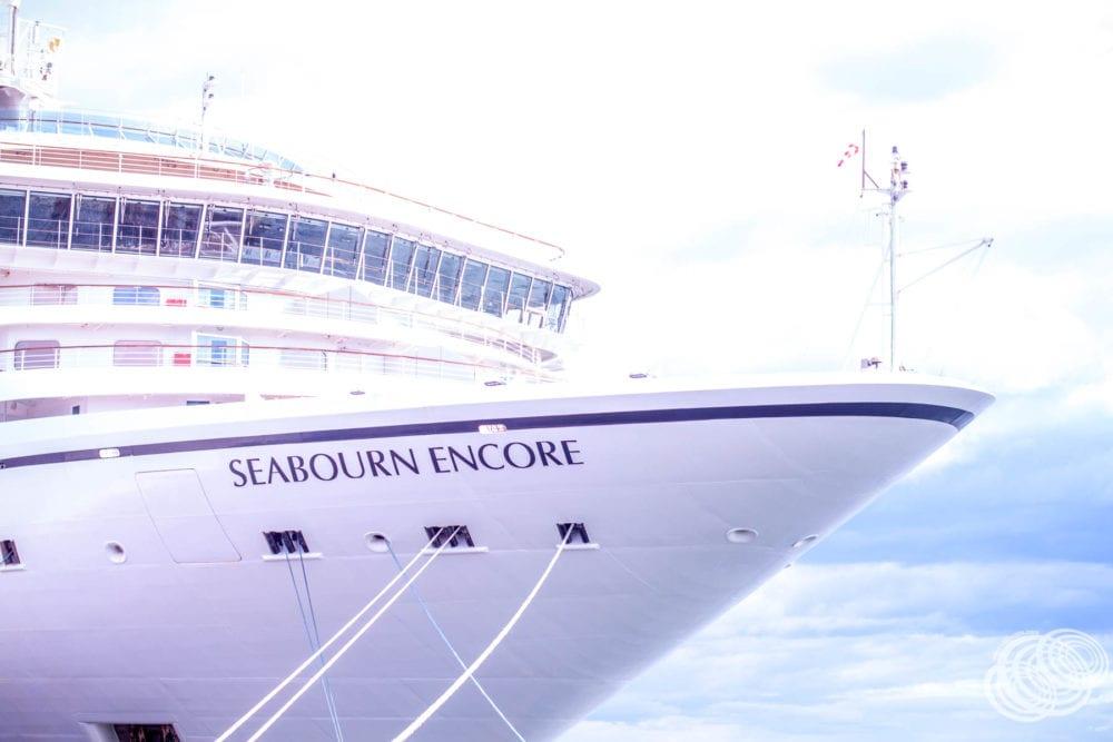 Seabourn Encore in Tauranga