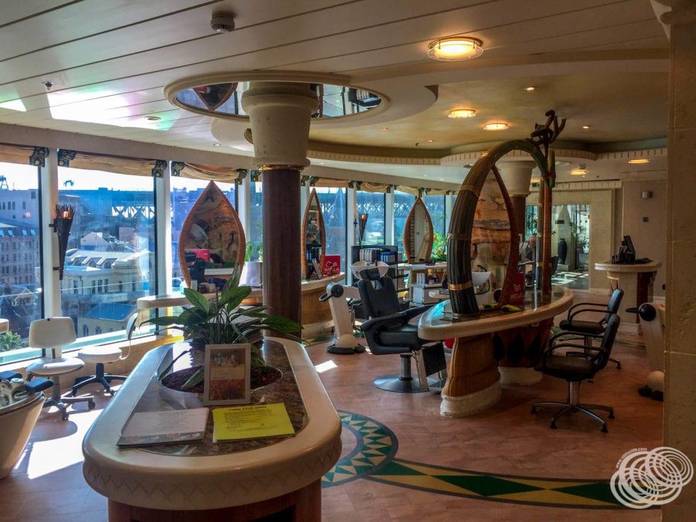 The Salon on Radiance of the Seas