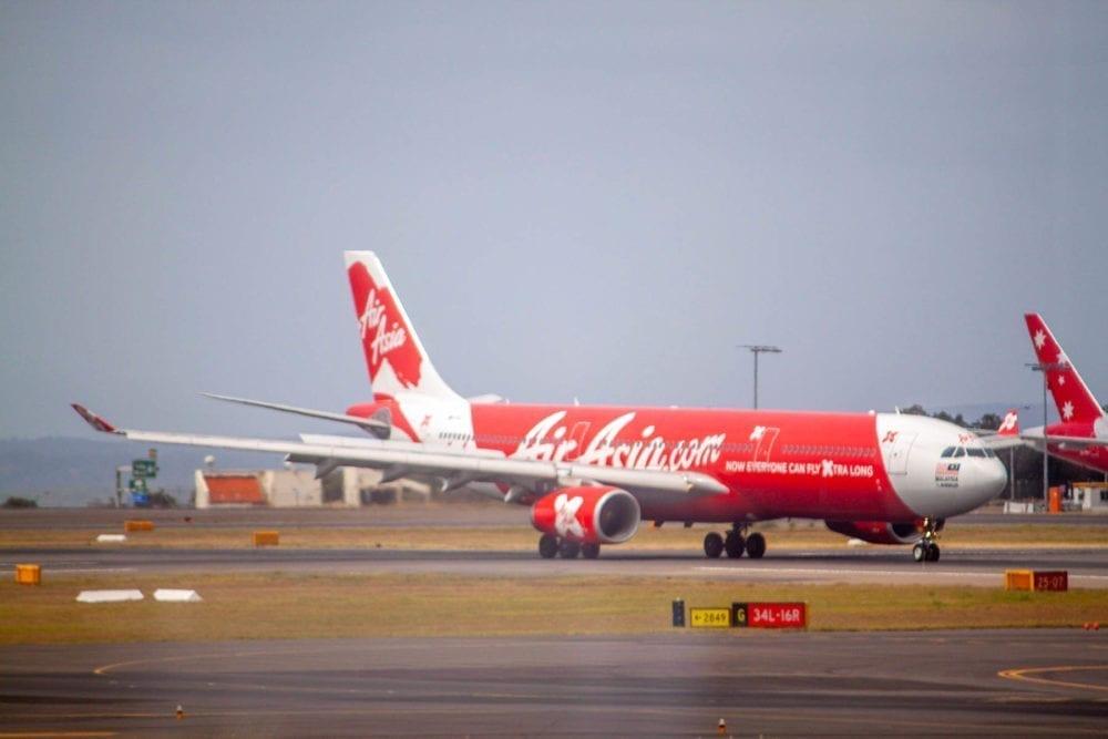 Air Asia Plane in Sydney
