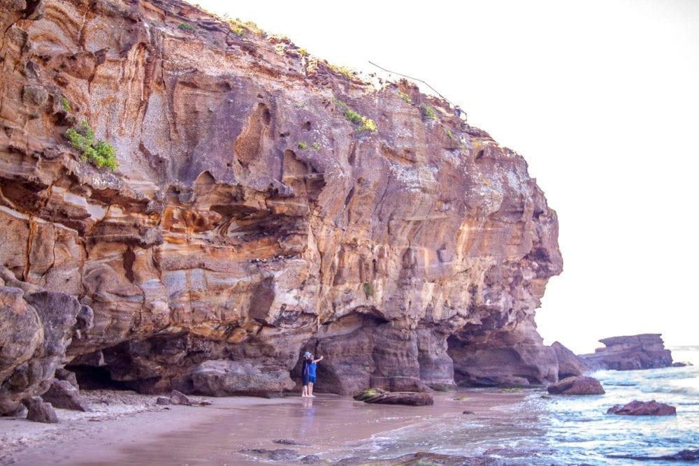 Caves Beach Cliffs