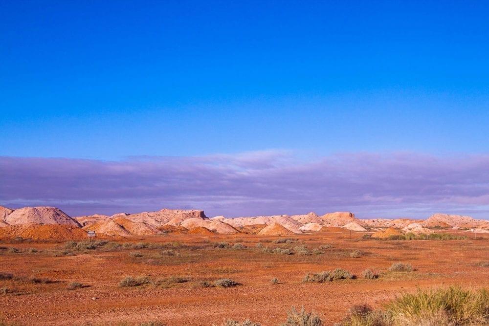 Coober Pedy Mine Landscape