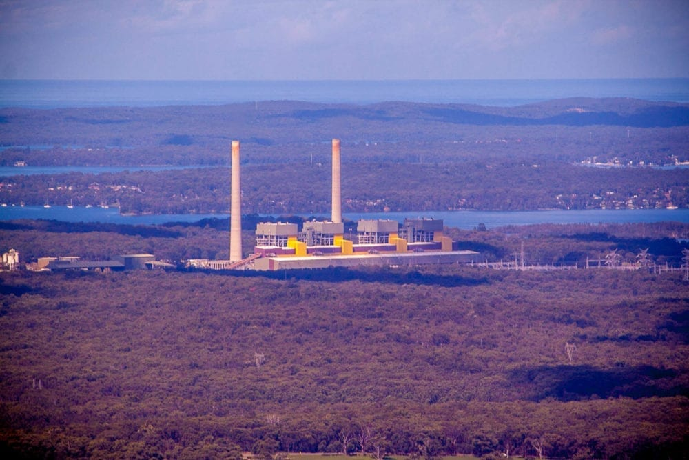 Heaton Lookout - Eraring Power Station