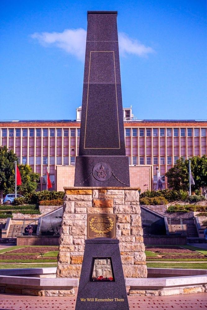Newcastle Civic Park War Memorial